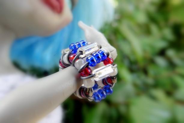 Three Beaded Doll Bracelets