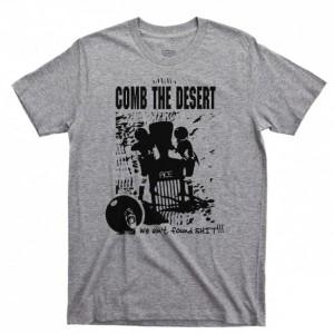 Spaceballs Men's T Shirt, Dark Helmet Comb The Desert Mel Brooks John Candy Movies Unisex Cotton Tee Shirt