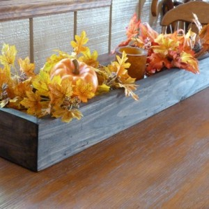 "Rectangular Box, Wedding Centerpiece 36""L box,Decor, Wooden Box, Center Piece, Wedding Decor, Wooden Planter Box"