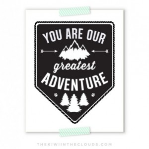 You Are Our Greatest Adventure, Nursery Art, Nursery Printable, Arrow Nursery, Camping Art, Outdoor Nursery, Black and White Nursery