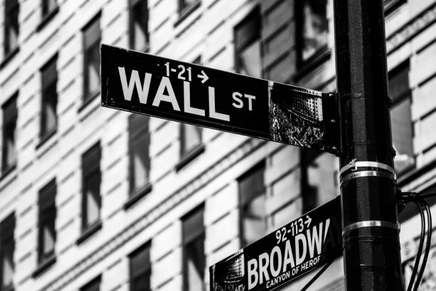 "Finance Art, Wall Street Art, ""Wall Street X Broadway"""