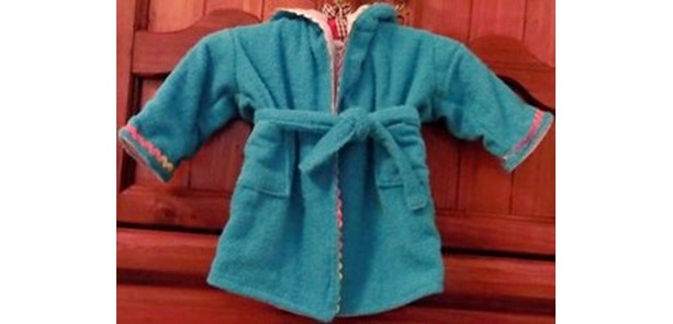 Baby's First Bath Robe