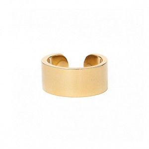 THE SINNER RING: SOLID 14K YELLOW GOLD