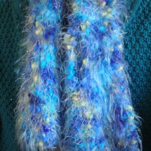 Women's Knitted Multicolor Fashion Scarf