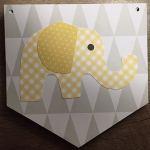 Little Peanut Baby Shower Banner - Elephant Baby Shower Banner -Little Peanut Baby Shower - Baby Elephant