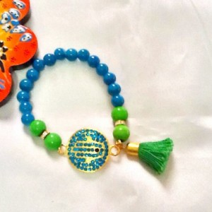 SALE -- HAMSA BLING Bracelet-Bohemian dazzle Bracelet-Amulet Bracelet