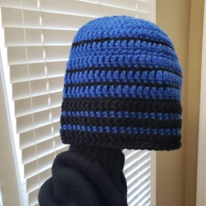 Men's fitted beanie skull cap ski hat