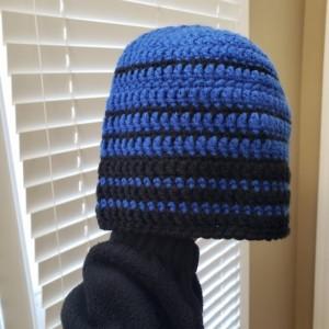 Men's fitted beanie skull cap ski hat