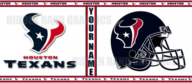 Custom Made Houston Texans 11oz Coffee Mug
