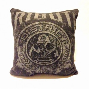 Hunger Games Tribute T-shirt pillow