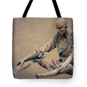 Solitary Man Tote Bag