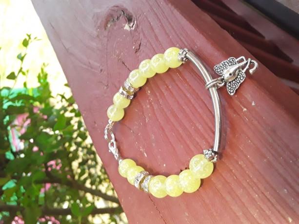 Elephant Love Yellow Bracelet
