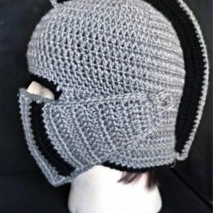 Knight Hat / knight Helmet / dark orchid