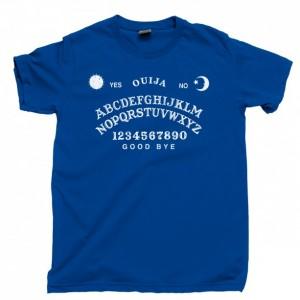 Ouija Board Men's T Shirt, Talking To Spirits Ghosts Seance Magic Magik Unisex Cotton Tee Shirt