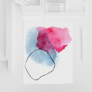 Large Watercolor Abstract Print. Watercolor Abstract Print. Large Watercolor Abstract. Minimalist Abstract Print