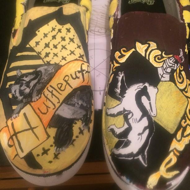 Hufflepuff Shoes