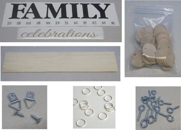 Family Birthday Board Kit, Birthday Board Kit, Mother's Day, Crafts, Family Birthdays, Birthday Calendar, Mothers Day, Craft Ideas