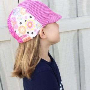 Kid's Hat - The Baseball 6 Cap for Girls - Reversible Cap for Girls - Child Hat