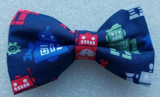 Robots pet bow tie