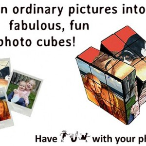 Custom Rubik's Photo Cube
