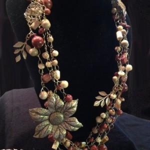 Fall Goddess Necklace