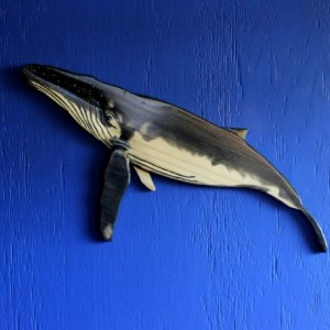 Humpback Whale Wall Plaque