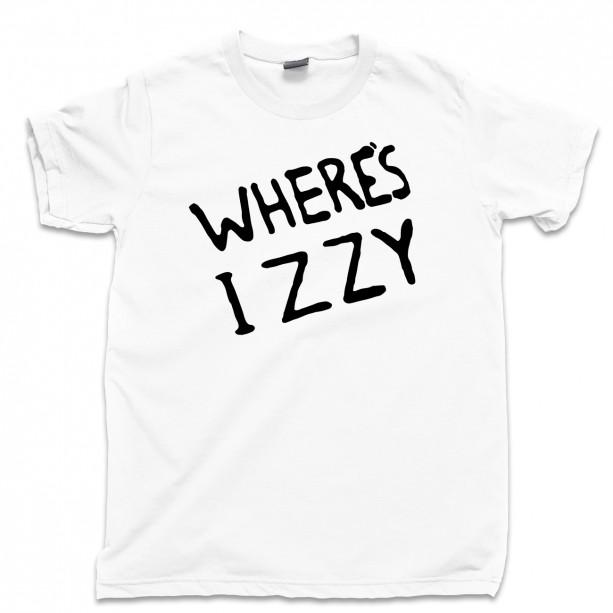 Where's Izzy Men's T Shirt, GNR Izzy Stradlin Axl Rose Slash Duff Mckagan Steven Adler Guns N Roses Concert Unisex Cotton Tee Shirt