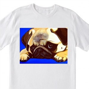 "POP Art ""Pug"" Dog - 100% Cotton T-Shirt for Men, Women, & Children by A.V.Apostle"
