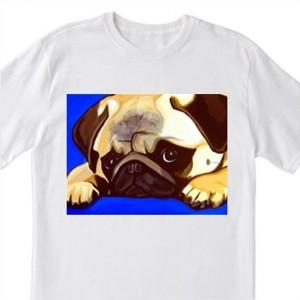 "POP Art ""Pug"" Dog - 100% Cotton T-Shirt for Men, Women, & Children by A.V.Apostle"