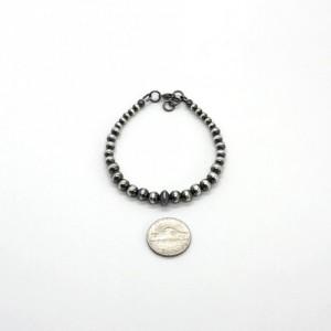 Navajo Pearl Bracelet in .925 Sterling Silver