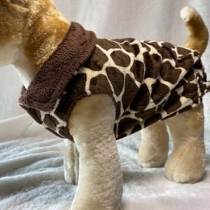 "Giraffe Ultra Fleece Jacket XXS 13-14"" girth"