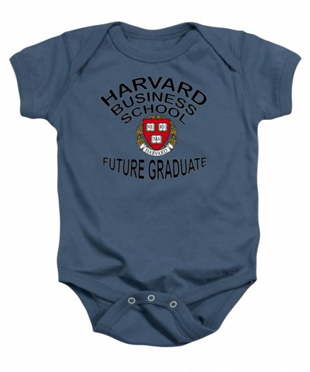 Harvard Business School Future Graduate Baby One Piece
