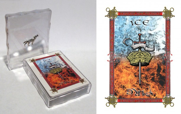 A Song of Ice and Fire/Game of Thrones playing cards- customizable