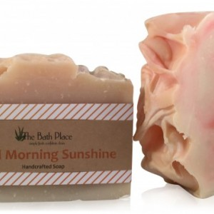 Good Morning Sunshine Handcrafted Soap Duo (2-Bars)