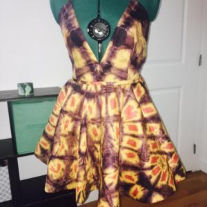 Handcrafted Ankara Dress