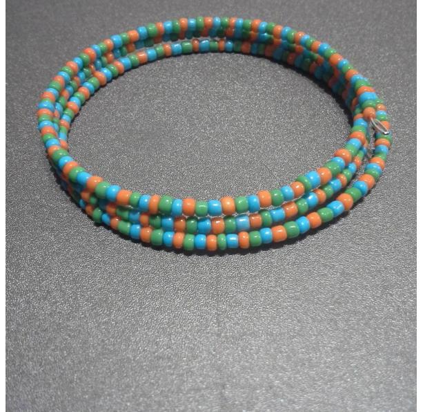 Multicolored Bangle Wrap