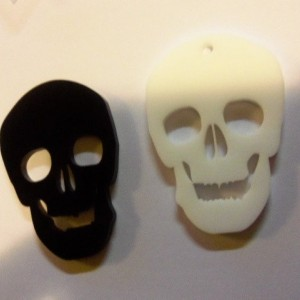 skull charms, skeletons,laser cut skulls, halloween skulls,