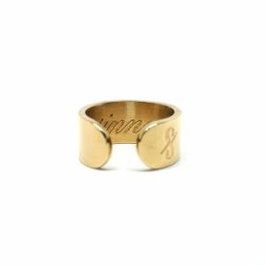 SINNER RING: MATTE 18-KARAT GOLD