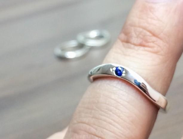 Sapphire Wedding Ring Alternative Wedding Rings aftcra