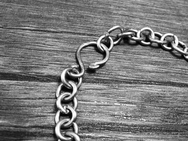 Copper Chain Link  Bracelet