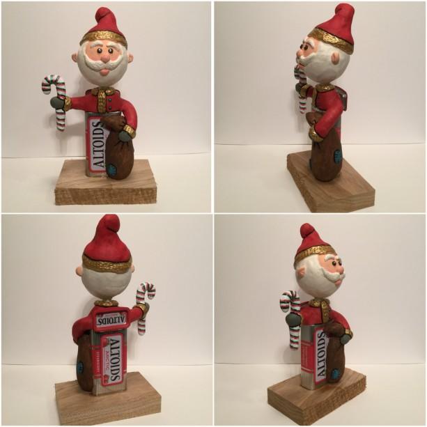 Christmas Santa figurine