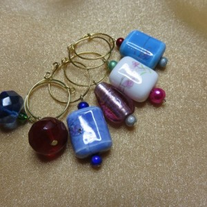Wine Glass Charms #11