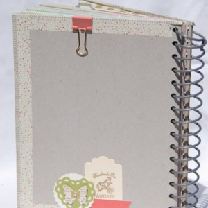Junk Journal, Art Journal, Mixed Media Journal, Spiral Ring Journal, Smash book
