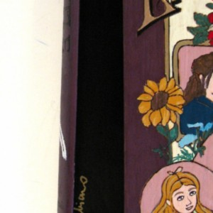 Little Women hideaway book box.  Beautiful, unique and hand decorated.