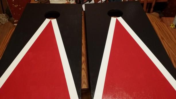 Custom made Cornhole Boards Set