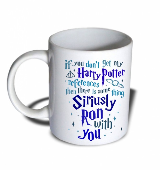 White 11 oz If You Don/'t Get My Harry Potter References Ceramic Mug