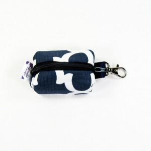 EOS lip balm case / lip balm cozy - Navy Fulton