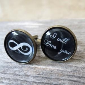 Groom Cufflinks - Wedding Cufflinks - Cufflinks For Groom - Groom Jewelry - Groom Accessories - Gift For Groom - Wedding Accessories