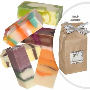 Gift Set from Earthly Delight Natural Soap - Six 2.75 oz. Scented Body Bars - 4 Sets to choose - Healthy Skin
