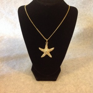 Starfish Gold Necklace